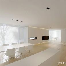 2018精选116平米现代别墅餐厅装修欣赏图片