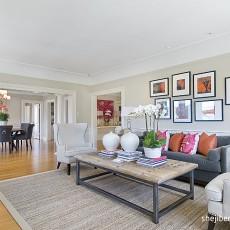 精选97平米三居客厅欧式装修欣赏图片
