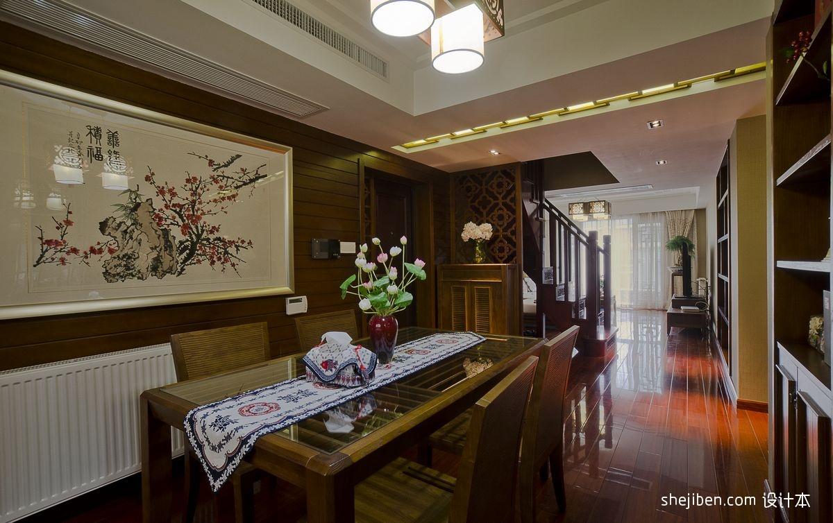 中式餐厅设计装修效果图