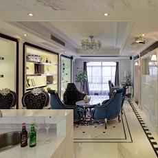 面积124平别墅餐厅欧式装修实景图片欣赏