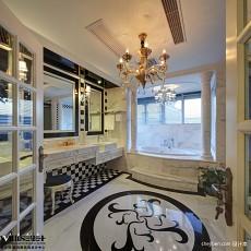 精美面积129平别墅卫生间欧式装修图片大全