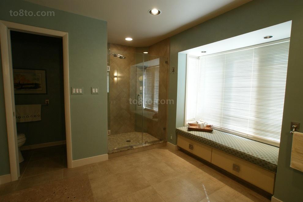 卫生间大飘窗装修效果图