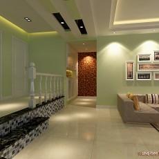 精美面积113平混搭四居客厅设计效果图