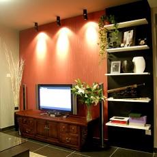 热门79平方二居客厅混搭装修欣赏图