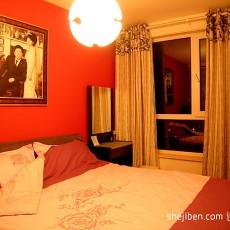 热门84平米二居卧室混搭装修设计效果图片大全