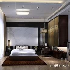 精美现代三居卧室装饰图