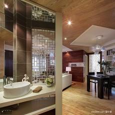 热门84平方二居卫生间现代装修设计效果图片欣赏