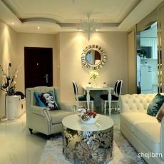 90平米二居客厅欧式欣赏图片大全