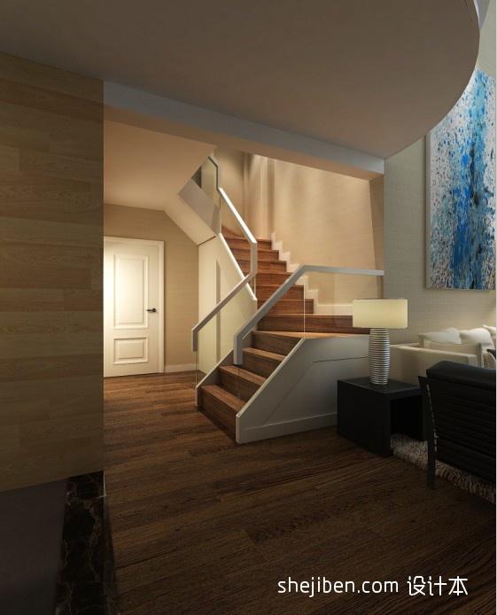 精美115平米混搭复式客厅装修设计效果图片