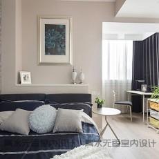 2018精选复式卧室混搭装修设计效果图片大全