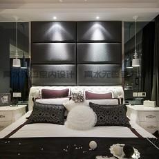 热门136平米混搭复式卧室效果图片大全