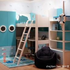 面积144平现代四居儿童房效果图片