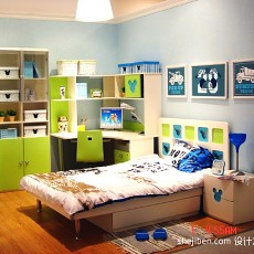 精选现代四居儿童房装修效果图