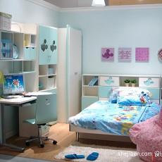 精美四居儿童房现代装修实景图片大全
