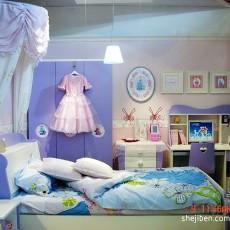 精美128平米四居儿童房现代效果图