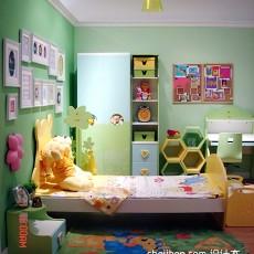 四居儿童房现代装修效果图片欣赏