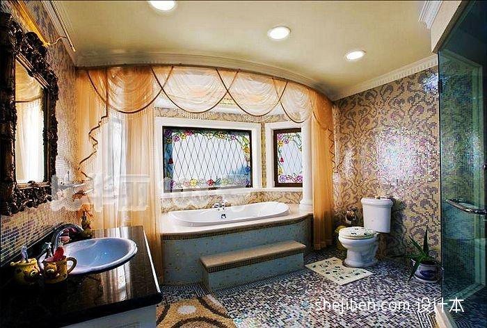 中式居家时尚风隔断设计