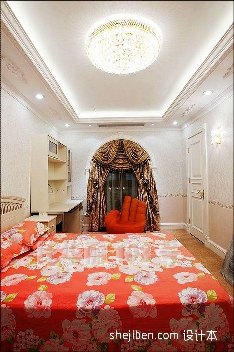 中式居家时尚风卧室设计