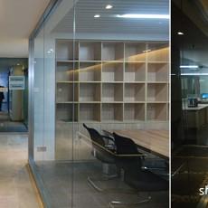 现代东南亚风格书房设计图片