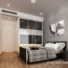 2018三居卧室现代装修欣赏图片大全