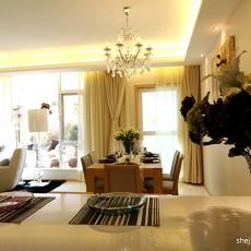 面积126平复式客厅混搭装修实景图片大全