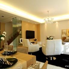 114平米混搭复式客厅装修效果图