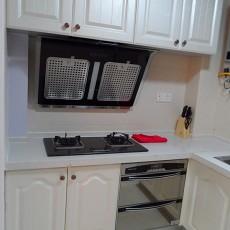 大小93平混搭三居厨房实景图片