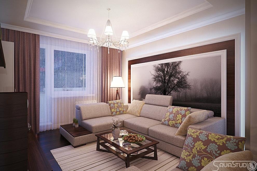 简约风格家庭客厅图片
