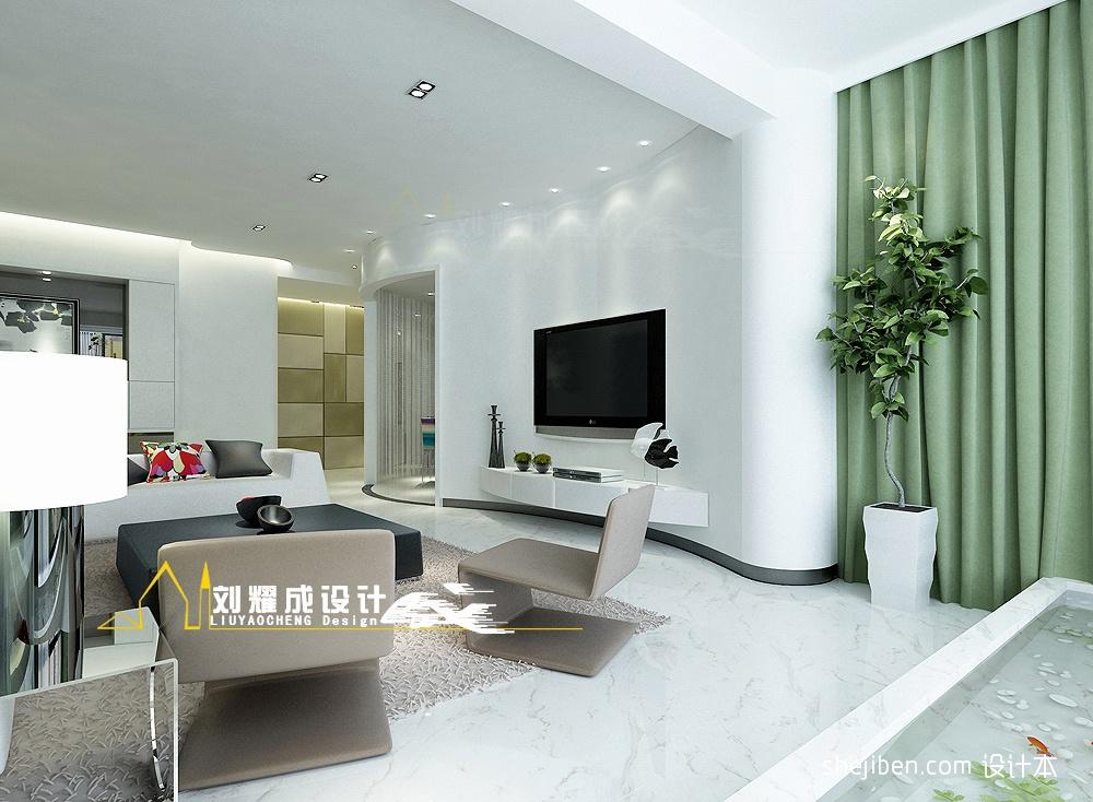 2018精选面积116平混搭四居客厅装修欣赏图片大全