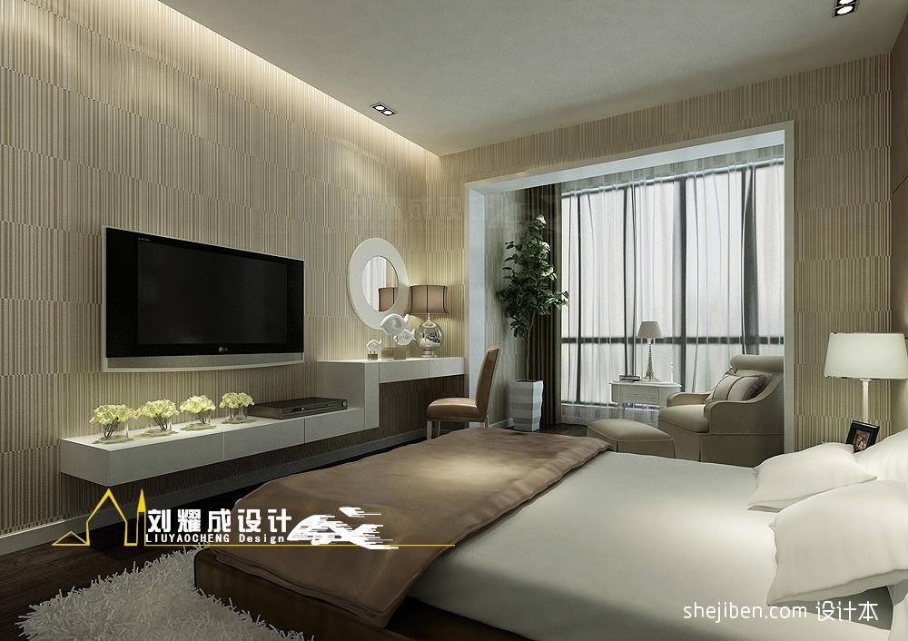 精美大小116平混搭四居卧室装修效果图片欣赏