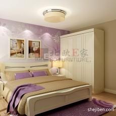 热门面积109平现代三居卧室装修欣赏图片