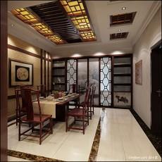 热门120平米混搭别墅客厅装修图