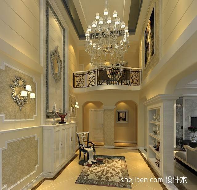 热门137平方混搭别墅客厅装修设计效果图片大全