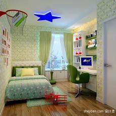 热门混搭三居儿童房装饰图片