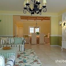143平米混搭别墅客厅装修实景图片