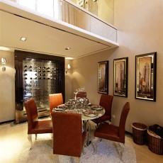 精美130平米现代别墅餐厅效果图片大全