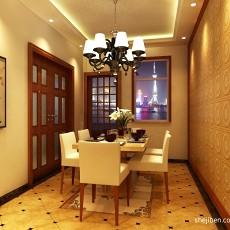 精美71平米二居餐厅中式装修图