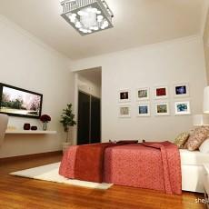 精选面积99平现代三居卧室效果图片欣赏