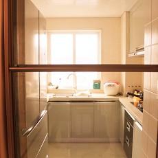 201894平米三居厨房现代装修设计效果图片欣赏