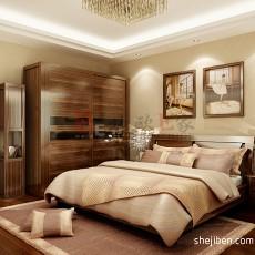 大小71平现代二居卧室装修实景图