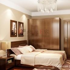 精选85平米二居卧室现代装修实景图片欣赏