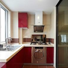 105平米三居厨房现代装修设计效果图片