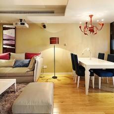 精美面积93平现代三居休闲区装饰图片