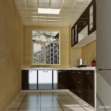 热门104平方三居厨房现代装修图片大全