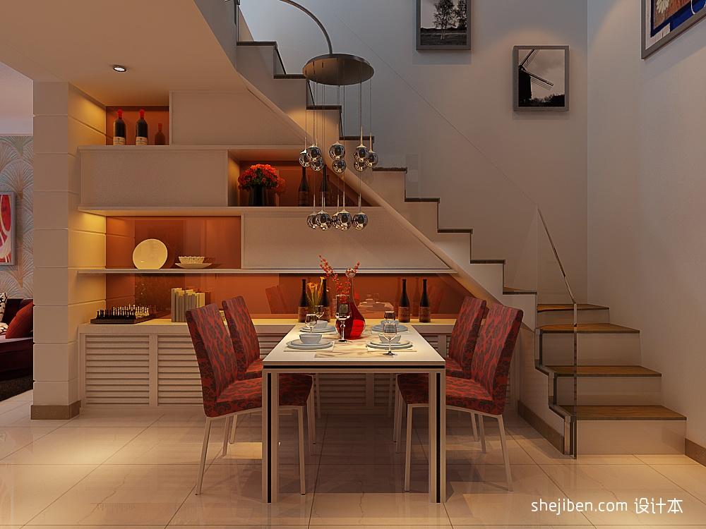 热门面积129平复式客厅混搭装修图片大全