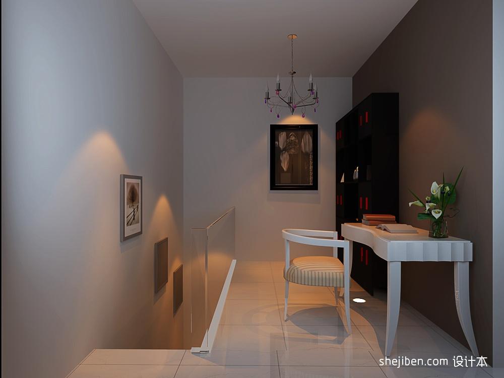 精美面积114平复式客厅混搭装修欣赏图片