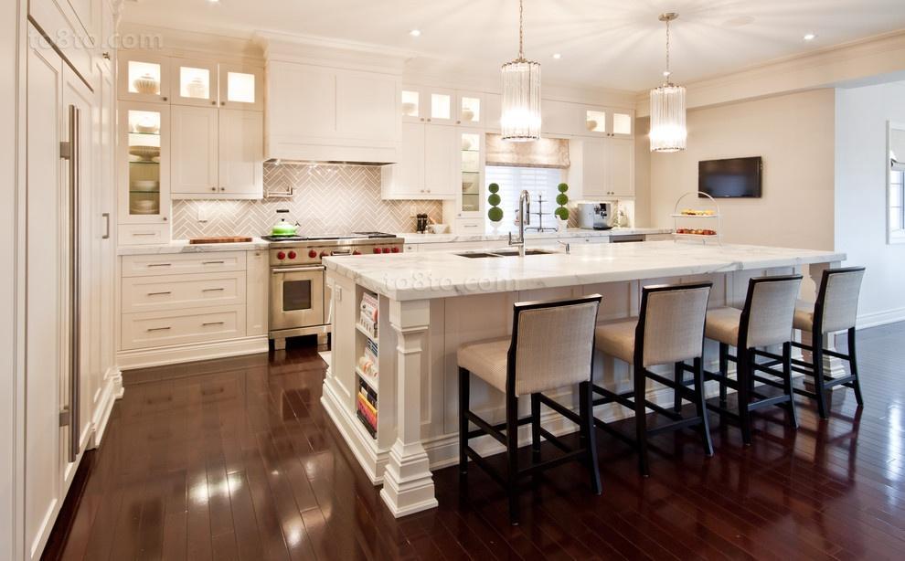 最新欧式开放式厨房设计