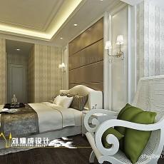 2018114平米四居卧室混搭效果图片