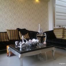 热门面积141平复式客厅现代装修效果图片