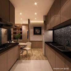 热门厨房混搭装修实景图